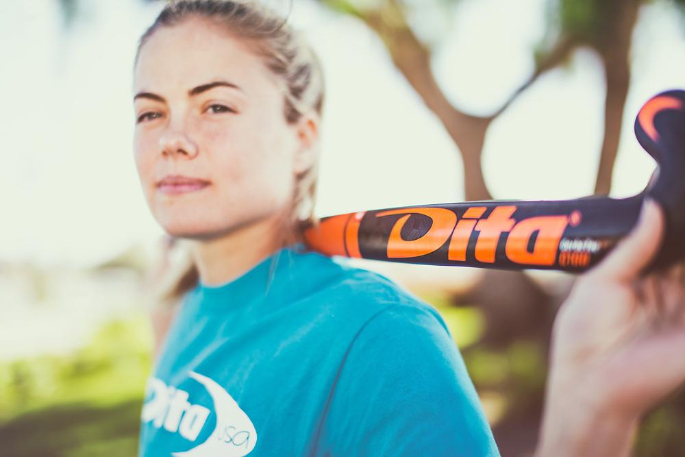 Kat Sharkey for Dita Field Hockey <br /> ditausa.com. Sport photography shot at Olympic Training Center in Chula Vista, San Diego, California.<br /> ©justinalexanderbartels@gmail.com