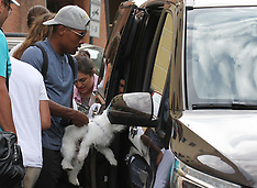 Alex Sandro with family in Portofino - 29 Aug 2017