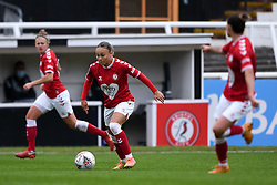 Ebony Salmon of Bristol City Women - Mandatory by-line: Ryan Hiscott/JMP - 18/10/2020 - FOOTBALL - Twerton Park - Bath, England - Bristol City Women v Birmingham City Women - Barclays FA Women's Super League