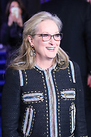 Meryl Streep, Mary Poppins Returns European Premiere, Royal Albert Hall, Kensington Gore, London, UK, 12 December 2018, Photo by Richard Goldschmidt