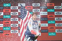 American's Robert Tylor during the last day World trophy class of the FIM international six days of enduro 2016 in Navarra, Spain. October 11, 2016. (ALTERPHOTOS/Rodrigo Jimenez)