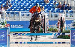 Schuttert Frank, NED, Chianti s Champion<br /> World Equestrian Games - Tryon 2018<br /> © Hippo Foto - Dirk Caremans<br /> 19/09/18