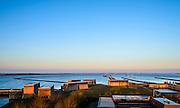Nederland, Zeeland, Gemeente Schouwen-Duiveland, 16-03-2016;  sluisterrein Krammersluizen, compartimenteringswerk tussen Volkerak en Krammer. <br /> <br /> <br /> copyright foto/photo Siebe Swart