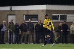 Rai Vloet of NAC Breda during the First round Dutch Cup match between Achilles 29 and NAC Breda at Sportpark de Heikant  on September 20, 2017 in Groesbeek, the Netherlands