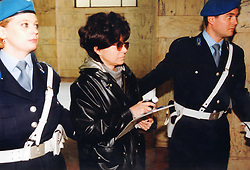 Italy, Milan - undated.Patrizia Reggiani arrested..Patrizia Reggiani arranged the murder of her ex-husband Maurizio Gucci in 1995, and she was sentenced to 26 years in prison in 1998..Here during a trial. (Credit Image: © Aresu/Fotogramma/Ropi via ZUMA Press)