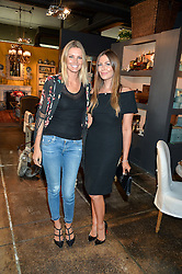 Left to right, MALIN JEFFERIES and TALI SHINE at a party to celebrate the publication of 'Feeding The Future' by Lohralee Astor and Tali Shine held at OKA,155-167 Fulham Road, London on 8th June 2016.