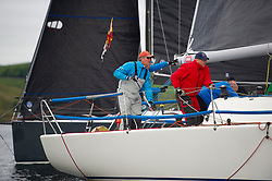 Day1, Banshee, Corby,  9470, CCC/RNCYC<br /> <br /> The Scottish Series, hosted by the Clyde Cruising Club is an annual series of races for sailing yachts held each spring. Normally held in Loch Fyne the event moved to three Clyde locations due to current restrictions. <br /> <br /> Light winds did not deter the racing taking place at East Patch, Inverkip and off Largs over the bank holiday weekend 28-30 May. <br /> <br /> Image Credit : Marc Turner / CCC