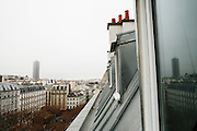 Tuesday January 8th 2008. .Paris, France..In an apartment  .Avenue Carnot - 17th Arrondissement