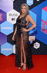 Chloe Ferry attending the MTV Europe Music Awards 2016 at the Rotterdam Ahoy Arena, Rotterdam, the Netherlands. Photo credit should read: Doug Peters/EMPICS Entertainment