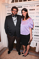 Neil LaBute and Katrina Pavlos at the launch of Heavy Rain for PlayStation 3 held at The Electric Cinema, Portobello Road, London on 15th February 2010.