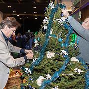 NLD/Amsterdam/20191206 - Sky Radio's Christmas Tree For Charity 2019, Frank Jansen en Rogier Smit