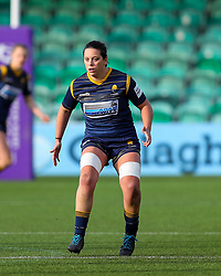 Sioned Harries of Worcester Warriors Women  - Mandatory by-line: Nick Browning/JMP - 20/12/2020 - RUGBY - Sixways Stadium - Worcester, England - Worcester Warriors Women v Harlequins Women - Allianz Premier 15s