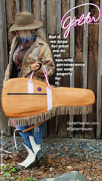 Galtarheaven.com  buy<br /> <br /> model:the Rodeo Cowgirl:Cowboy Galtar gig bag<br /> <br /> Galtarheaven.com photo/design Star Nigr