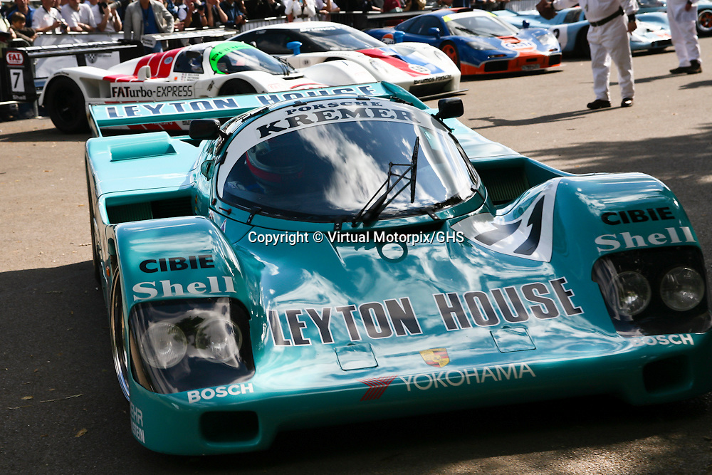 Porsche 962 CK6, Kremer Racing Leyton House, here at Goodwood FOS in 2008