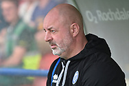 Rochdale Manager, Keith Hill   during the EFL Sky Bet League 1 match between Rochdale and Bradford City at Spotland, Rochdale, England on 21 April 2018. Picture by Mark Pollitt.