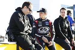 March 2, 2018 - Las Vegas, Nevada, United States of America - March 02, 2018 - Las Vegas, Nevada, USA: Trevor Bayne (6) hangs out on pit road during qualifying for the Pennzoil 400 at Las Vegas Motor Speedway in Las Vegas, Nevada. (Credit Image: © Justin R. Noe Asp Inc/ASP via ZUMA Wire)