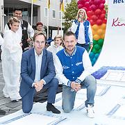 NLD/Almere/20170831 - Bekendmaking Het Huis van stichting Het Vergeten Kind, René Peeters en Johnny de Mol