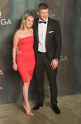 Tate Modern, London, April 26th 2017. Adam Peaty and Anna Zair arrive at the Tate Modern in London for the 'Lost In Space' 60th anniversary event for the Omega Speedmaster watch.