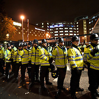 London  October 22  Protests and clashes with the Police in front of BBC studios  at Wood Lane ahead Question Time with controversial  BNP leader Neil Griffin ...***Agreed Fee's Apply To All Image Use***.Marco Secchi /Xianpix. tel +44 (0) 771 7298571. e-mail ms@msecchi.com .www.marcosecchi.com
