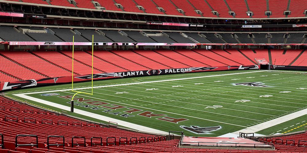 Georgia Dome Signage 06 - Atlanta, GA