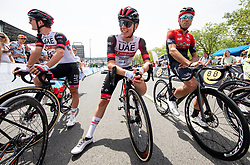 Jan Polanc, Tadej Pogacar, Kristijan Koren during Slovenian National Road Cycling Championships 2021, on June 20, 2021 in Koper / Capodistria, Slovenia. Photo by Vid Ponikvar / Sportida