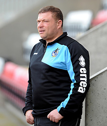 Marco Carota - Mandatory byline: Neil Brookman/JMP - 07966 386802 - 03/10/2015 - FOOTBALL - Globe Arena - Morecambe, England - Morecambe FC v Bristol Rovers - Sky Bet League Two