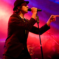 Maximo Park performing live at the Warehouse Project, Manchester, UK, 2010-09-23