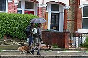 London, Britain, May, 17, 2021 — Thundery weather hit London on Monday, May 17, 2021. (Photo by Vudi Xhymshiti/VXP)