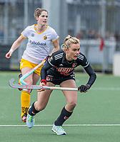 AMSTELVEEN -  Freeke Moes (Adam)  tijdens  de hoofdklasse hockey competitiewedstrijd dames, Amsterdam-Den Bosch (0-1)  COPYRIGHT KOEN SUYK