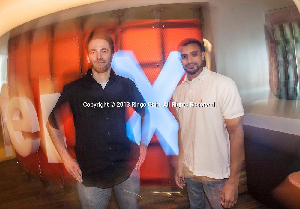 Qasim Saifee, right, senior vp of monetization platform, and John Murphy, vp of marketplace quality, of OpenX. (Photo by Ringo Chiu/PHOTOFORMULA.com)