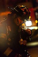 Portrait of a firefighter.