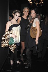 Left to right, ELLIE SHEPHERD, LADY LOUISA COMPTON and INDIA LANGTON at the grand opening of the Amika nightclub, 65 High Street Kensington, London on 28th February 2007.<br />