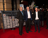 Ken Loach ,Jeremy Corbyn , Paul Laverty at the 'I, Daniel Blake' People's Premiere at Vue West End , London, England  October 18, 2016