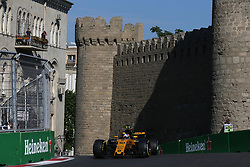 June 23, 2017 - Baku, Azerbaijan - Motorsports: FIA Formula One World Championship 2017, Grand Prix of Europe, .#30 Jolyon Palmer (GBR, Renault Sport F1 Team) (Credit Image: © Hoch Zwei via ZUMA Wire)