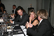 ALASDHAIR WILLIS, AND FRANK COHEN.  Dinner given by Established and Sons to celebrate Elevating Design.  P3 Space. University of Westminster, 35 Marylebone Rd. London NW1. -DO NOT ARCHIVE-© Copyright Photograph by Dafydd Jones. 248 Clapham Rd. London SW9 0PZ. Tel 0207 820 0771. www.dafjones.com.