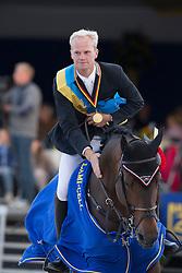 Guery Jerome (BEL) - Tic Tac Du Seigneur<br /> Belgium Championship Jumping - Lanaken 2012<br /> © Dirk Caremans
