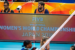 19-10-2018 JPN: Semi Final World Championship Volleyball Women day 18, Yokohama<br /> China - Italy / Filippo Rubin, photographer