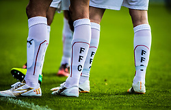 Falkirk players.<br /> Raith Rovers 0 v 0 Falkirk, Scottish Championship game played 27/9/2014 at Raith Rovers Stark Park.