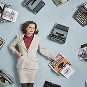 Keira Rathbone, typewriter artist