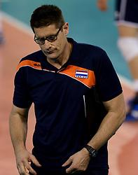 01-06-2014 NED: WLV Nederland - Zuid Korea, Eindhoven<br /> Coach Edwin Benne