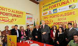O candidato José Fortunati durante convenção do PPS - Partido Popular Socialista, na sede municipal, em Porto Alegre. FOTO: Jefferson Bernardes/Preview.com