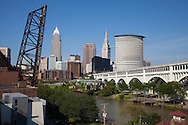 Cleveland, Ohio skyline during the day