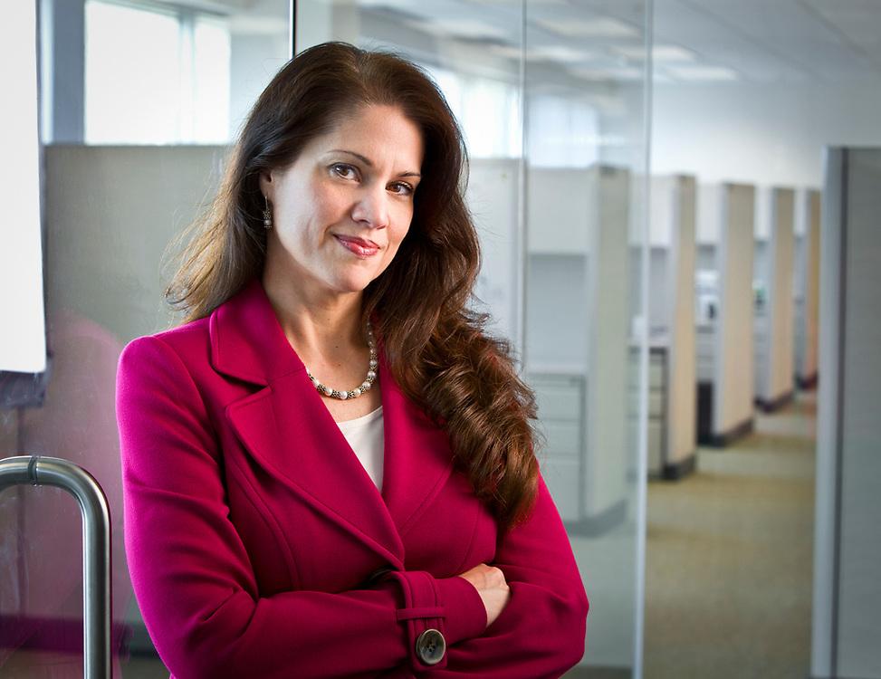 Cheryl Moisan Valera. Business portrait for ikaSystems Corporation