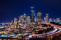 Downtown Seattle Illuminated