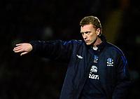 Photo: Ed Godden/Sportsbeat Images.<br /> Watford v Everton. The Barclays Premiership. 24/02/2007.<br /> Everton Manager David Moyes.