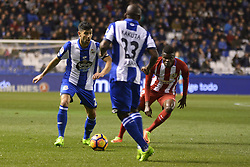 March 2, 2017 - La Coruna, Spain - Juanfran. La Liga Santander Matchday 25. Riazor Stadium, La Coruna, Spain. March 02, 2017. (Credit Image: © Monica Arcay Carro/VW Pics via ZUMA Wire/ZUMAPRESS.com)