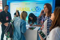 Movimento do Público durante o #FT17, realizado pela ADVB-RS, na ESPM-Sul. Inspirado em alguns dos maiores eventos do mundo de inovação e tendências (SXSW, Cannes Lions e Burning Man), o #FT17 é maior hub de conteúdo da história de Porto Alegre. Foto: Jefferson Bernardes / Agência Preview