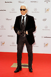 60717955  <br /> Karl Lagerfeld  at the Bambi Awards 2013 at Stage Theatre in Berlin, Germany, Thursday, 14th November 2013. Picture by imago / i-Images<br /> UK ONLY