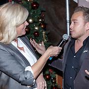 NLD/Amsterdam/20151126 - Perspresentatie The Christmas Show, Irene Moors en Jamai