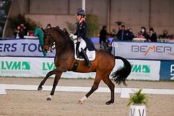 HAGEN a.T.W. - Horses and Dreams meets Japan Sports Edition 2021<br /> <br /> DUJARDIN Charlotte (GBR), Mount St John Freestyle<br /> CDI 4* Grand Prix Special to Music<br /> Höveler Pferdefutter präsentiert<br /> <br /> Hagen a.T.W., Hof Kasselmann<br /> 24. April 2021<br /> © www.sportfotos-lafrentz.de/Stefan Lafrentz